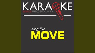 Blackberry Way (In the Style of Move) (Karaoke with Background Vocal)