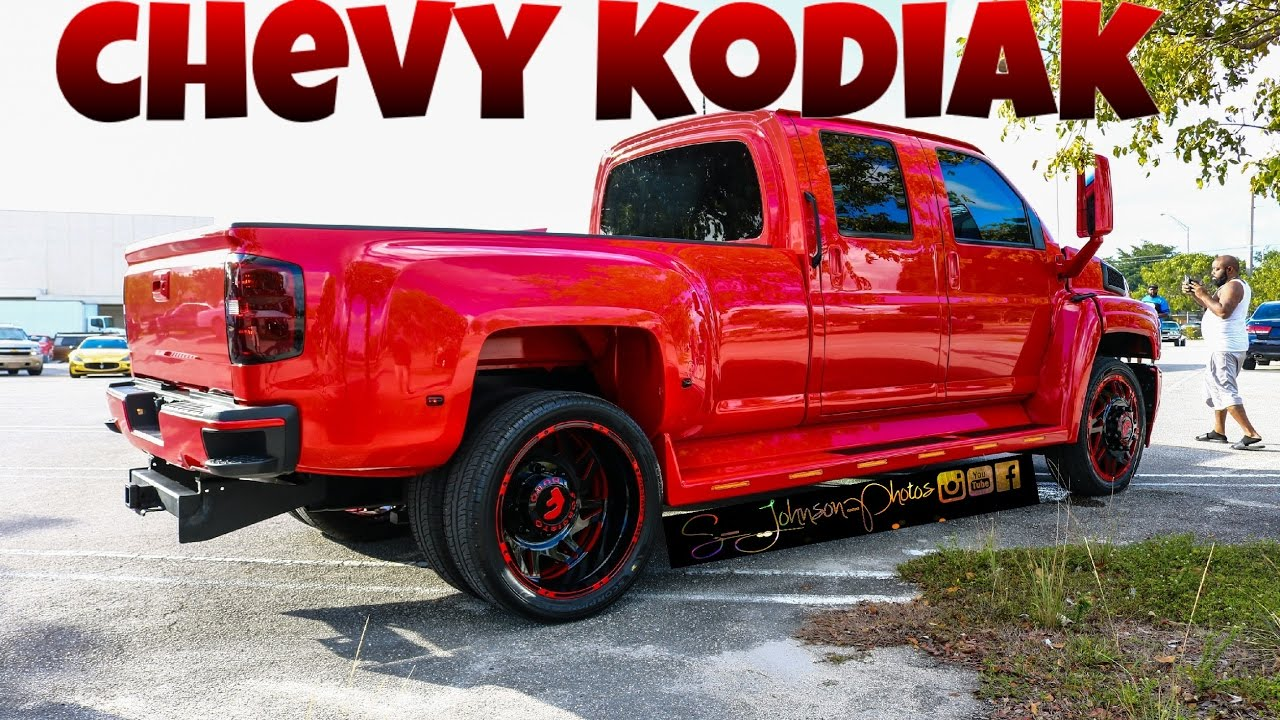 Extremely Clean Kodiak Truck on Forgiato Duro Series in HD ...