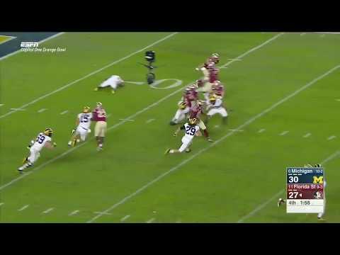 Seminole Moment: Keith Gavin's Crucial 4th Quarter Kickoff Return (2016 Orange Bowl)