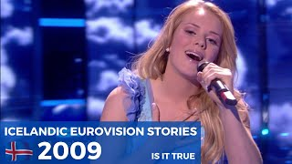 Iceland in Eurovision - The Full Story 2009 - Yohanna / Is It True