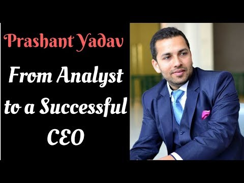 Journey Of An Analyst Who Created 2 Startups | Interview with Prashant Yadav (Episode 8)
