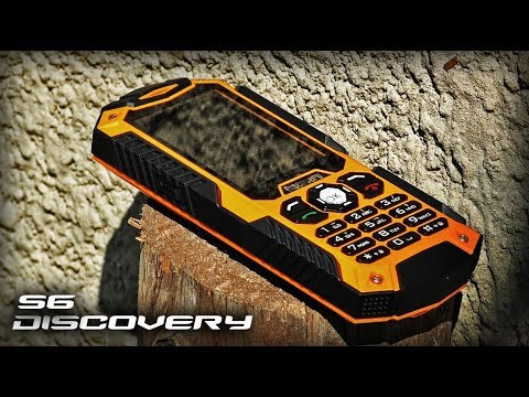 Неубиваемый телефон Discovery S6 IP68