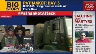 Pathankot Terror Attack: NSG Addresses Press Conference