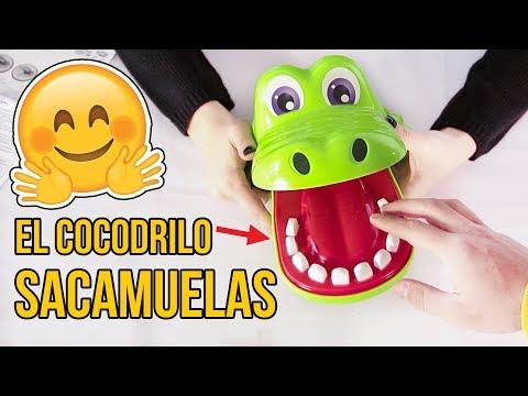 🐊El increíble COCODRILO SACAMUELAS🐊 Le sacamos los dientes malos al cocodrilo sacamuelas