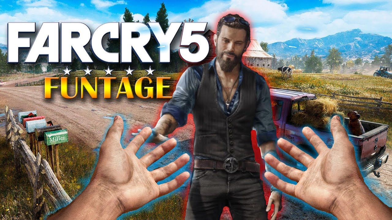Far Cry 5 Funtage Liberating A Whole County With Only Our Fist Challenge Far Cry 5 Funny Moments Youtube