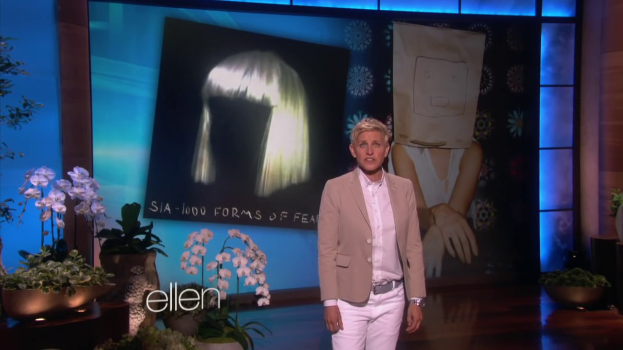 Sia chandelier performance the ellen show youtube sia chandelier performance the ellen show arubaitofo Image collections