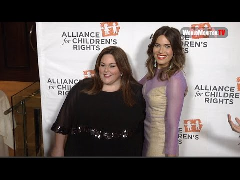 Mandy Moore, Chrissy Metz Alliance For Children's Rights 25th Anniversary