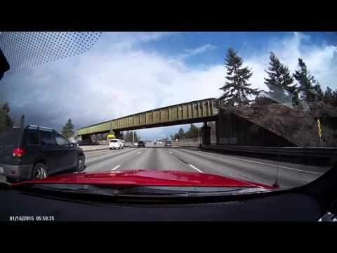 Accident I-5 north Tacoma 28Feb2016