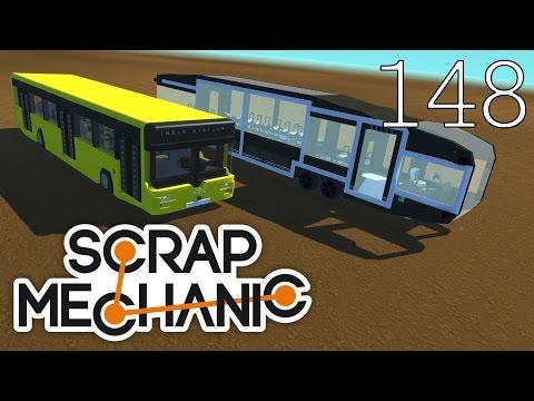 Scrap Mechanic [#148] Wszystkie rodzaje AUTOBUSÓW! + Gratis!