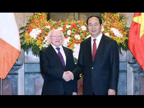 Irish President Higgins on State visit to Vietnam