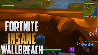 FORTNITE: INSANE EASY FORTNITE *WALLBREACH/GOD MODE* GLITCH
