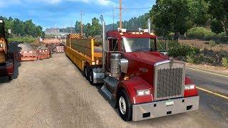 Самые ОПАСНЫЕ РАБОТЫ Америки - ч14 American Truck Simulator