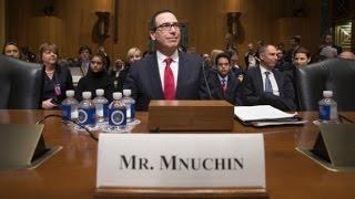 Senators try and fail to pronounce Munchin