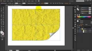Efeito de página virando no Illustrator Cc e Corel Draw x6