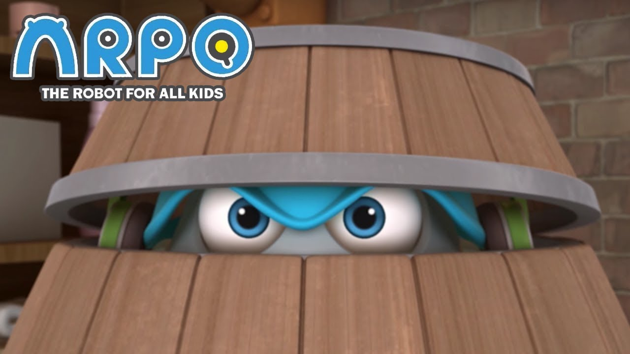 ARPO The Robot For All Kids - Going Crazy | Compilation | Cartoon for Kids