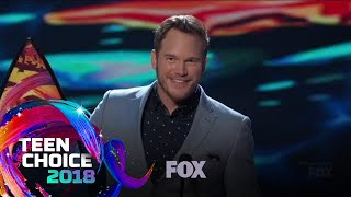 Chris Pratt & Bryce Dallas Howard Win Choice Summer Movie Actors | TEEN CHOICE