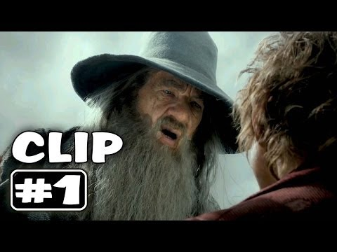 The Hobbit 2 : the Desolation of Smaug - Movie Clip # 1 [HD 1080p]