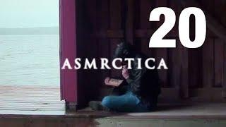 ASMR Boathouse - Rain outdoors, Calming sea waves, Soft Spoken Sleep Aid