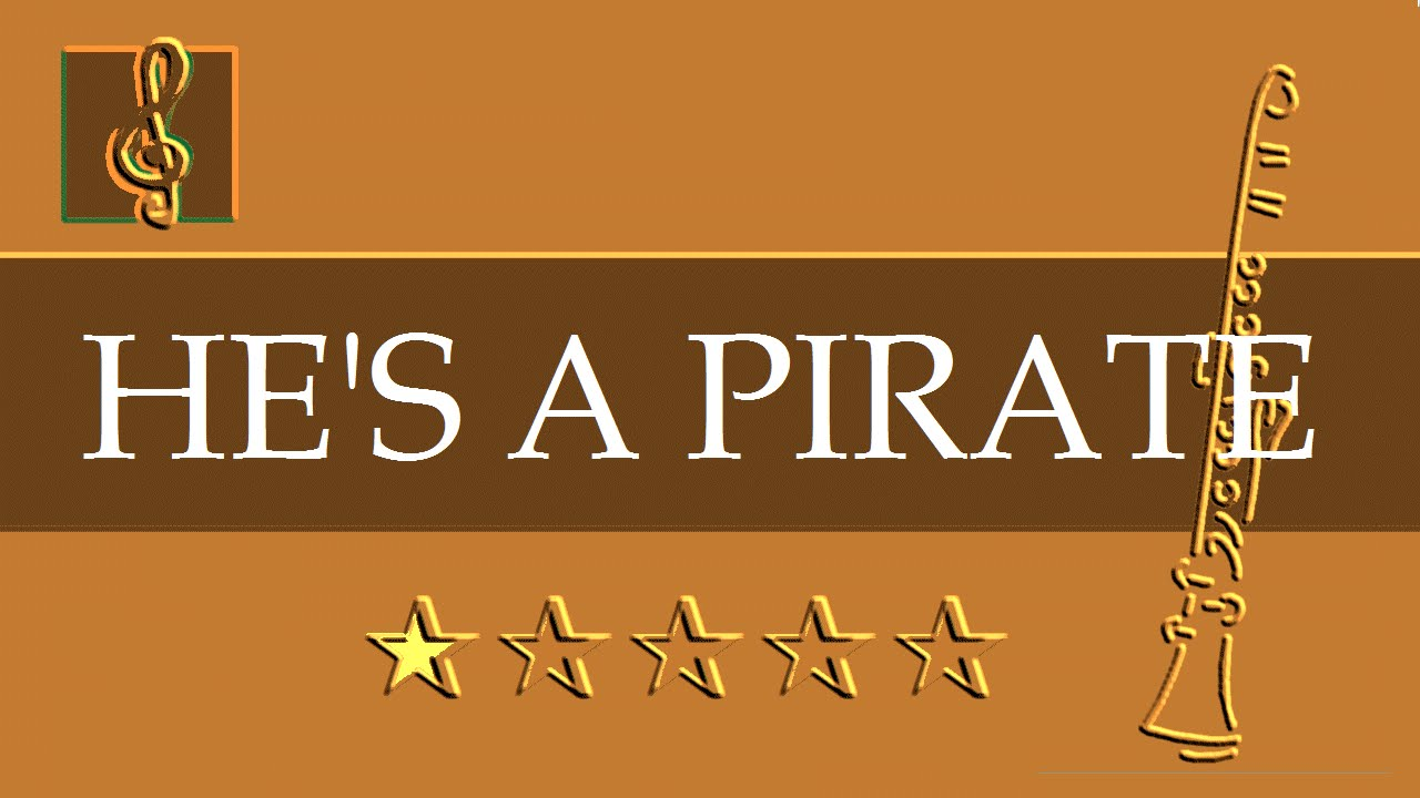 Clarinet Guitar Duet Hes A Pirate Pirates Of The Caribbean