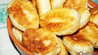 Дрожжевые пирожки с картошкой и грудинкой