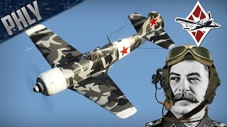 War Thunder La-9 Gameplay! - Fly For Great Leader STALIN!
