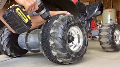 Powerwheels Quad BMX Tire Traction Upgrade!