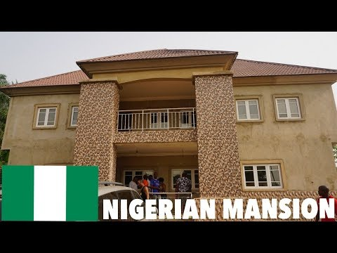NIGERIA TRIP PART 1 | Mansion Tour in the Village