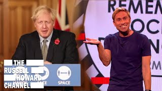Boris Johnson Continuing to be Absolute Rubbish | The Russell Howard Channel