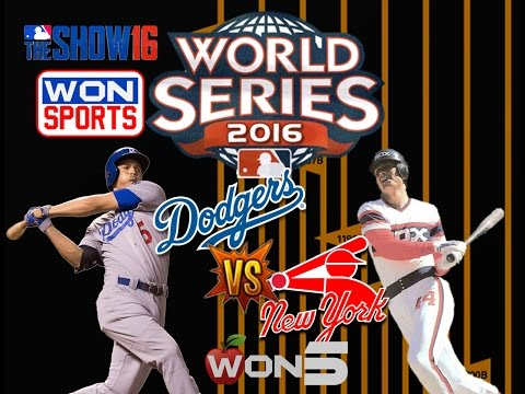 2016 World Series (MLB 16 Gameplay/Commentary) Game 4: White Sox NY Vs. Brooklyn Dodgers