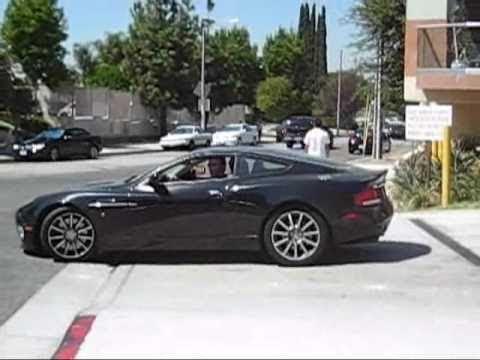 Aston Martin V12 Vanquish S Youtube