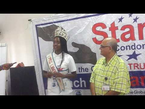 Miss Liberia Commissioned as 'Face Of Star Condom' Ambassador