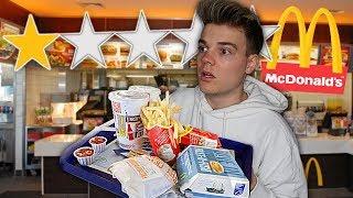Ich ESSE im SCHLECHTESTEN McDonalds in meiner Stadt..
