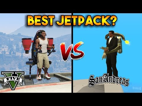 BEST JETPACK? (GTA 5 VS GTA SAN ANDREAS) thumbnail