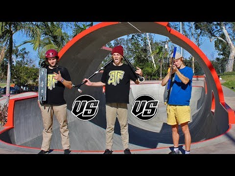 3 WAY PRO GAME OF SCOOT! Derek Marr vs Robby Mier vs Chris Farris