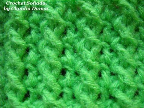 Crochet Jersey Stitch : ... CROCHET STITCH / PUNTO EL?STICO Y JERSEY RETORCIDO CROCHET