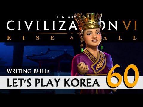 Let's Play: Rise & Fall - Korea (60) | Civilization VI [deutsch]