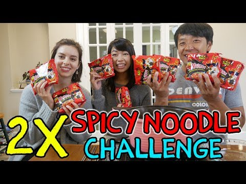 The SPICIEST Instant Noodles in The World Challenge!