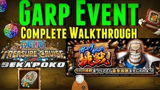 Complete Garp Event | All 15 Stages | Hardest Content EVER in OPTC | One Piece Treasure Cruise