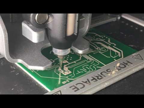 Voltera V-One PCB printing