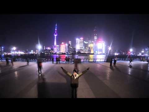 Shanghai Pudong Skyline | Sunset Time Lapse