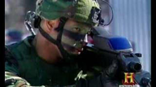 XM29 OICW (Objective Individual Combat Weapon) Prototype