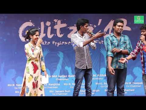 Kpy Winner Bala & Vignesh semma mass performance    Glitzz 17 Ethiraj college    போதும்டா  முடியல