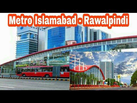 Metro Bus Service Islamabad Rawalpindi   Best Public Transport In Pakistan