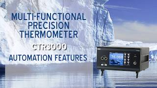 CTR3000 Automation Features