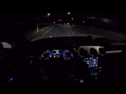2019 Ford Mustang GT Premium A10 POV Night Drive!