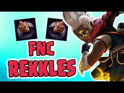 Fnc Rekkles Vs PowerOfEvil | PoE LCS/Challenger Pro Player (Deutsch/German) League Of Legends