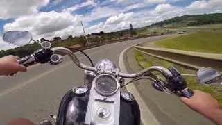 Harley Davidson Fat Boy Teste Go Pro Hero3+
