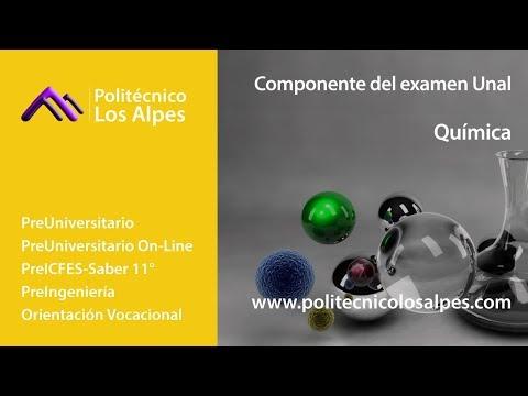 Componente Del Examen Unal - Química
