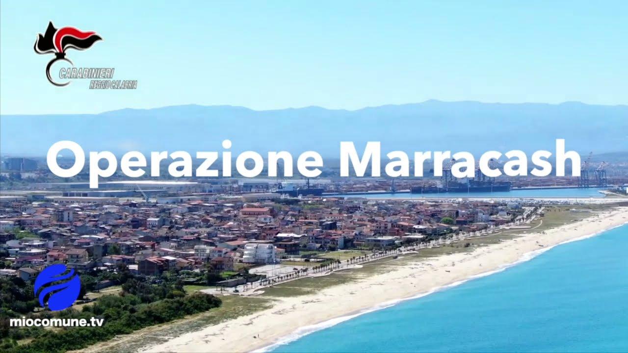 """Colpo allo spaccio con l'operazione """"Marracash"""" nella tendopoli di San Ferdinando"""
