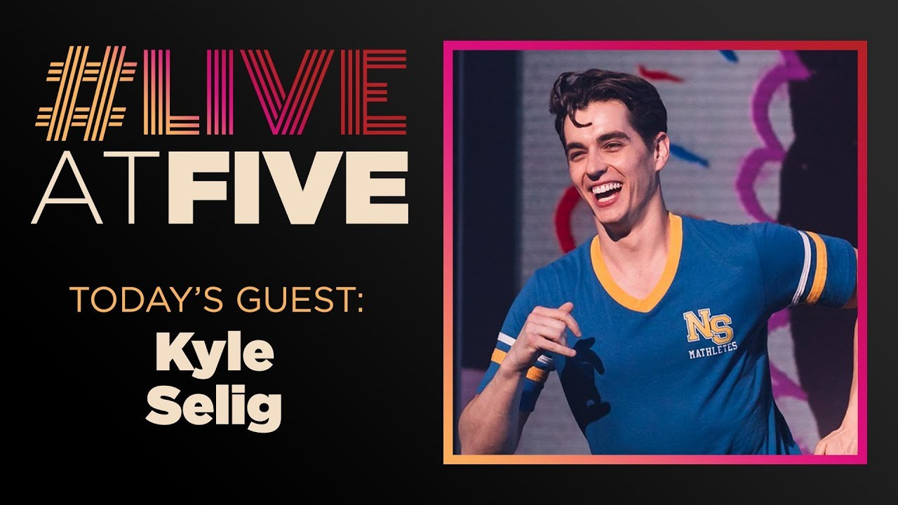 broadway com liveatfive with kyle selig of mean girls youtube